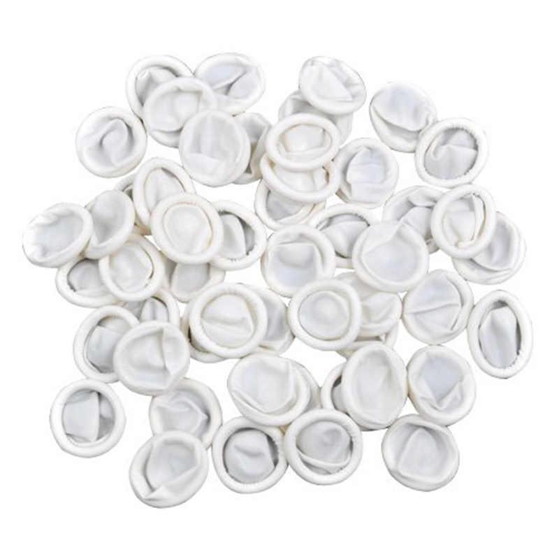 100 قطعة غطاء للأصابع مسمار الفن اللاتكس متناول واقية صغيرة قفازات من الجلد العملي المتاح مكافحة ساكنة SD998