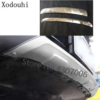 Car Protection Bumper Stainless Steel Trim Front Head/rear Back Hoods Bottom Part For Mazda CX8 CX-8 2017 2018 2019 2020