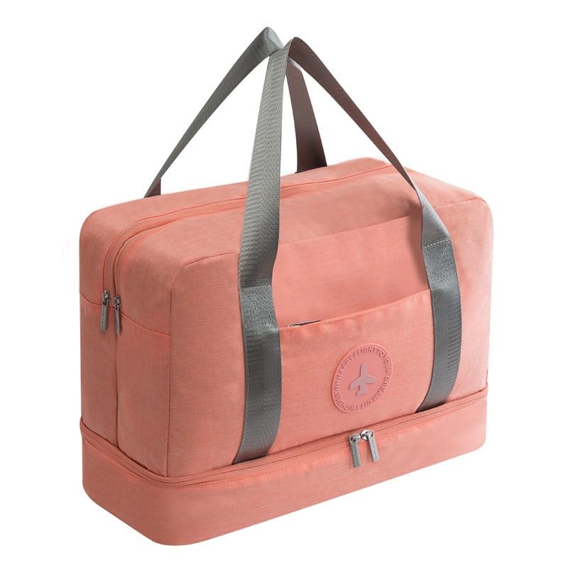 Портативная дорожная сумка JULY'S SONG, водонепроницаемая многофункциональная сумка для сухого влажного разделения, дорожная сумка для путешествий, Прямая поставка - Цвет: 3