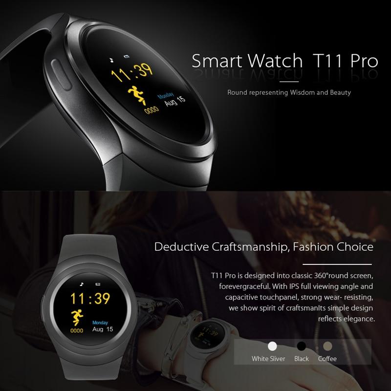 Bluetooth T11 Pro Smart Uhr Relogio Android Smartwatch Anruf SIM TF Kamera für Apple iPhone Xiaomi Android PK DZ09 q18 Y1