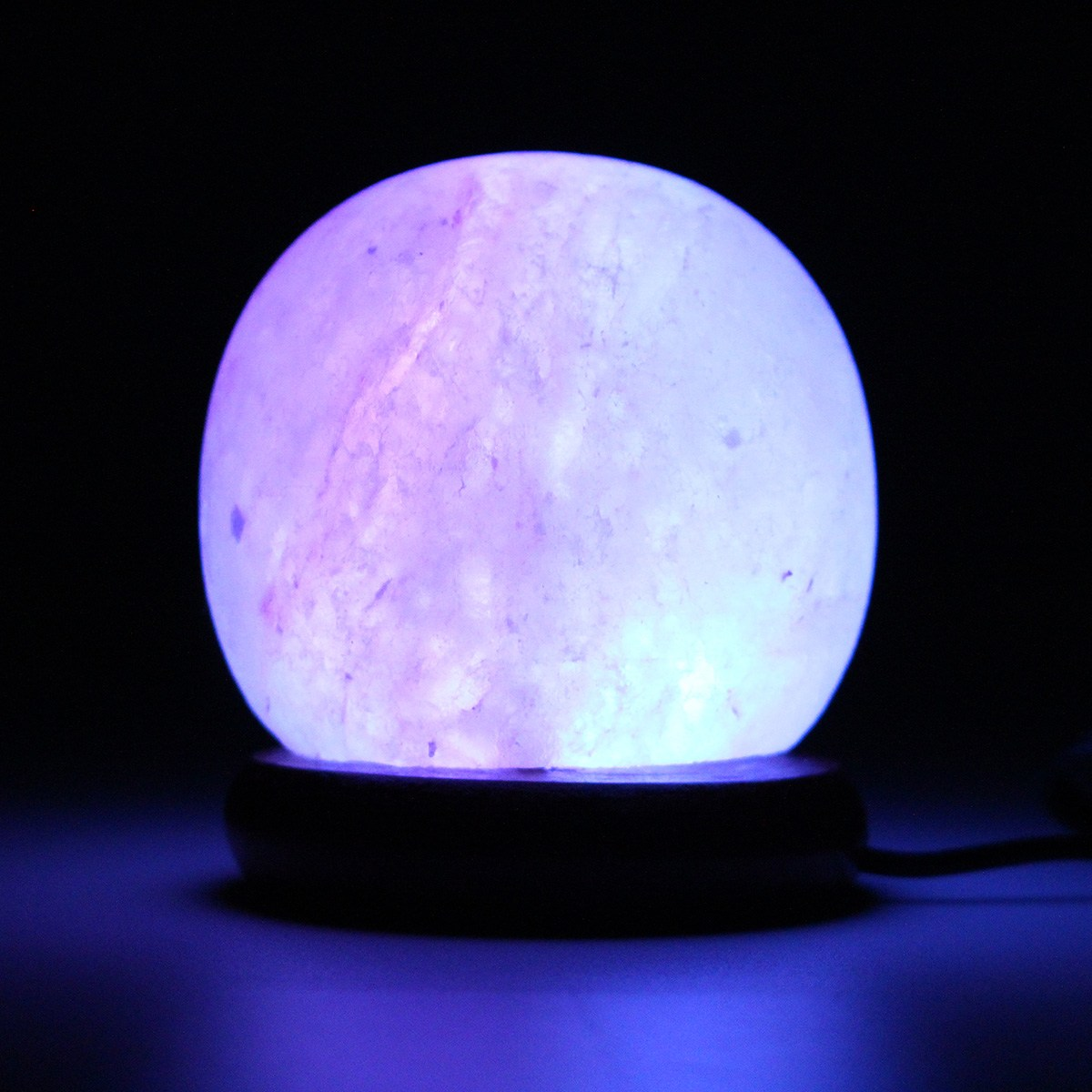 Luzes da Noite de madeira redonda lâmpada de Fonte de Luz : Lâmpadas Led