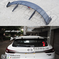 For Mazda CX-4 2016 2017 Rear Wing Spoiler, Trunk Boot Wings Spoilers Resin fibre Grey primer Screw installation