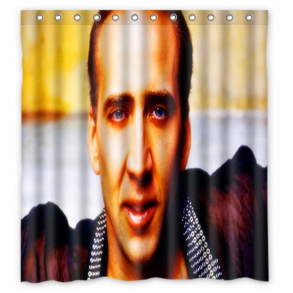 66x72 Nicolas Cage Shower Curtain 72x72 Inch One Piece Dragon Ball Fairy Tail