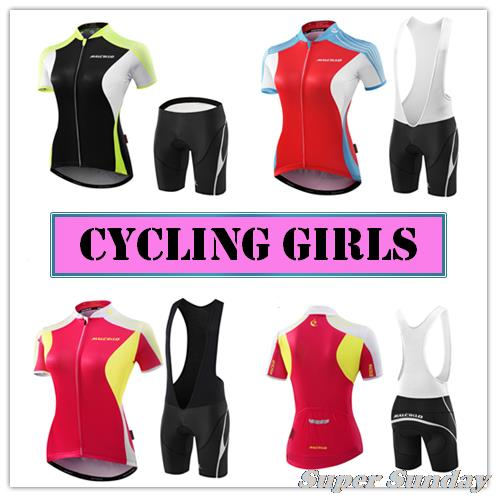 Free Shipping Women's Sports Jerseys Female Cycling Jersey High Quality Summer Bike Racing Clothing Team Bicycle Suits 176 top quality hot cycling jerseys red lotus summer cycling jersey 2017s anti uv female adequate quality sleeve cycling clothin