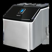 220 v Kommerziellen 25 kg/24 H Elektrische Ice Cube Maker Maschine Edelstahl Eismaschine Maschine EU/ AU/UK Stecker Für Kaffee Shop