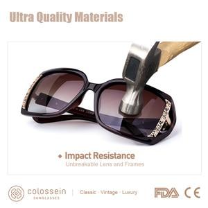 Image 4 - COLOSSEIN MSTAR サングラス女性偏光 2019 新ファッションサングラス高級段階的な光ソフトクラシック眼鏡 UV400