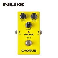 NUX CH 3 Violao Guitar Guitarra Electric Effect Pedal Chorus Low Noise BBD High Quality True
