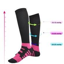 Быстросохнущие футбольные спортивные носки повседневный стиль колено поглощение пота Нейлон чулочно-носочные изделия марафон беговая Обувь Аксессуары