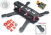 DIY FPV ZMR250 Cross Race Quadcoper Frame With 4mm Replacement Arm Mini Drone H250 Carbon Fiber