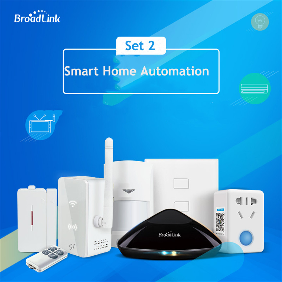 Original Broadlink Smart Home Automation RM Pro TC2 Light Switch S1C Kit Security Kit SP Mini3 Wifi Smart Socket for Smart Home комплект умный дом xiaomi smart home security kit