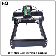 Neue 15 Watt Mini Lasergravur Kennzeichnung laserschneidanlage (140mm * 200mm) Für Holz leder Metall Edelstahl Keramik