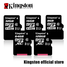 Digital de Kingston 16 GB 32 GB 64 GB 128 GB Class 10 UHS-I microSDXC 80 MB/S Leer La Tarjeta (SDC10G2/16 GB/32 GB/64 GB/128G)