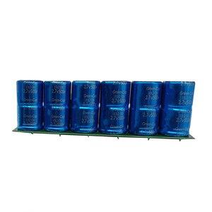 Image 3 - Farad Capacitor 2.7V 500F 6 pieces / 1 Set Super Capacity With protective panel Automotive Capacitors