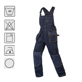Working Clothes Original Brand Mens Coveralls Factory Workwear Uniforms Functional Pockets Males Clothes denim Coveralls Jeans