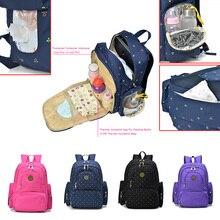 Marke Neue Große Kapazität Multifunktionale Mummy Nappy Rucksack Mutterschaft Baby Windel pflege produkt Taschen Für Reise