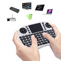 New Mutilfunction 2.4G Wireless Keyboard with Touchpad Air Mouse Rechargeable Remote Control Touchpad TV Box For Android