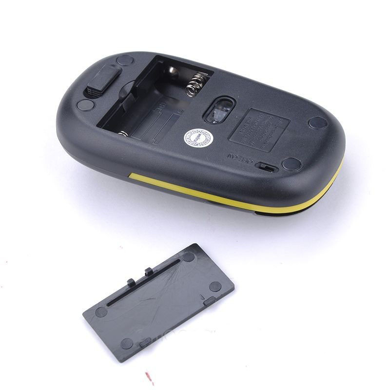 BASIX Hot Mouse 2.4GHz Ratón óptico inalámbrico Ratones 1600 DPI - Periféricos de la computadora - foto 5