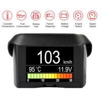 Automobile On-board Computer Ancel A202 Car Digital Obd Computer Display Speedometer Fuel Consumption Meter Temperature Gauge