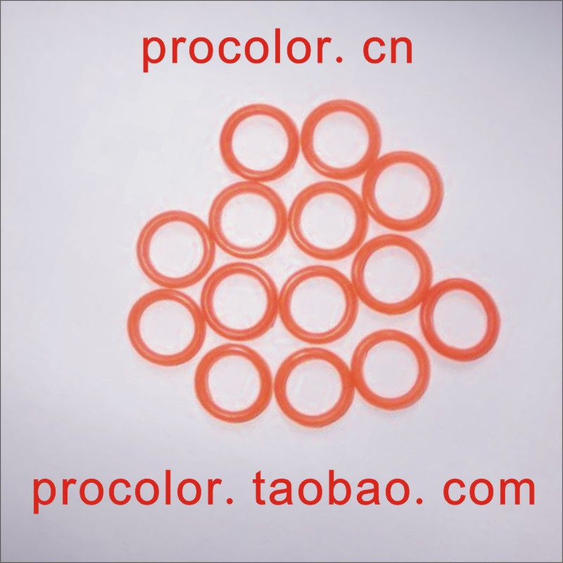 Silicone rubber o ring o-ring oil seal gasket washer,Produce all kinds of specification at all scales Size 16mm*C/S2mm...