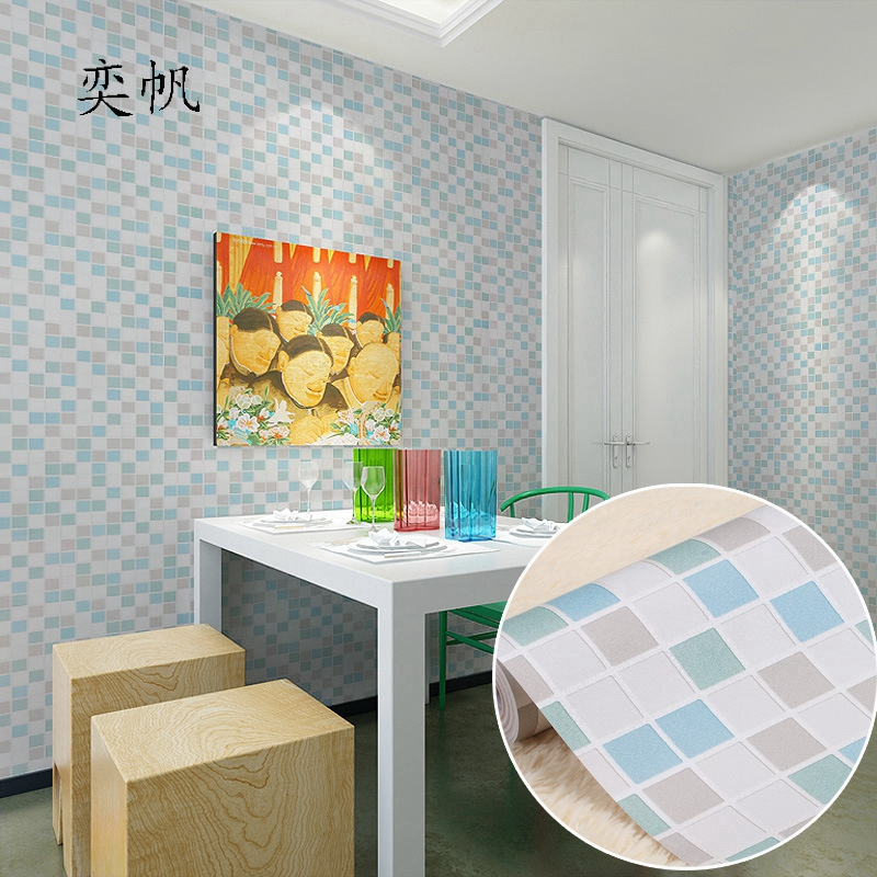 Papel Pintado Decorativo Para Paredes De Dormitorio Bano Papel De - Papeles-de-decoracion-para-paredes