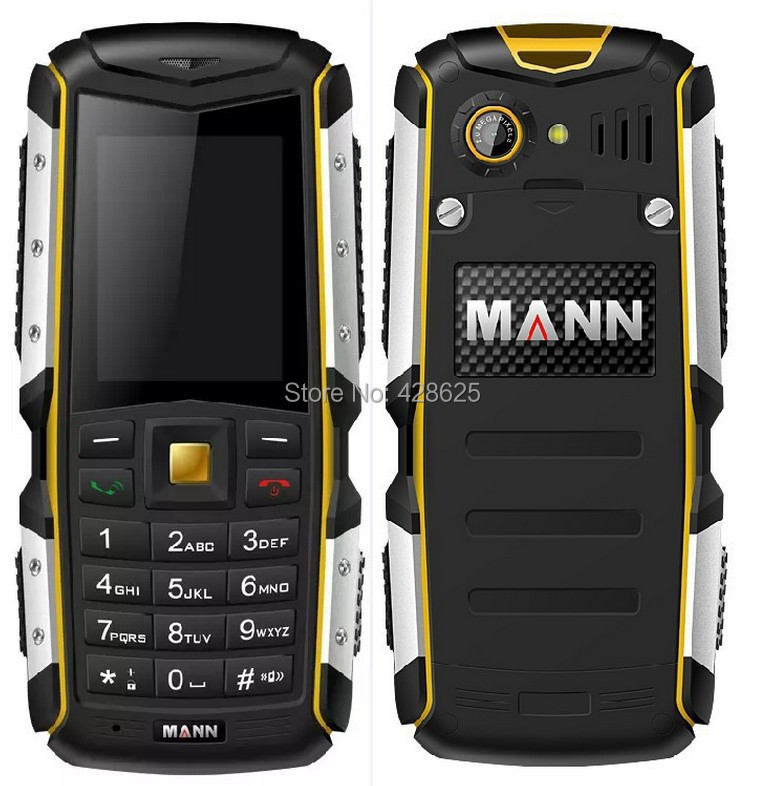 Original Mann ZUG S IP67 Waterproof Shockproof Dustproof Mobile Phone Rugged Outdoor Cell Phone 2.0MP Camera Bluetooth Russia