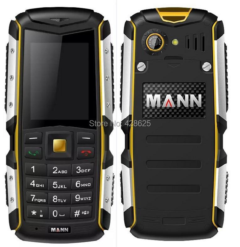 Original Mann ZUG S IP67 Waterproof Shockproof Dustproof Mobile Phone Rugged Outdoor Cell Phone 2.0MP Camera Bluetooth Russia