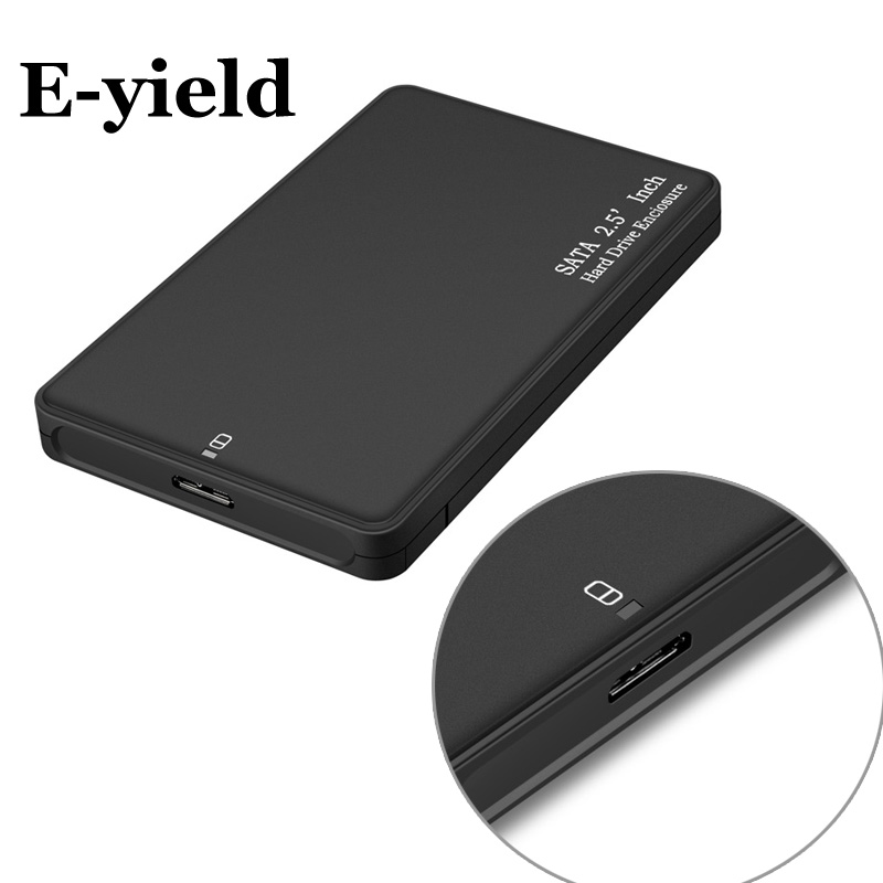 HDD Case 2.5 Inch SATA To USB 3.0 SSD Adapter For Samsung Seagate SSD 2TB Hard Disk Drive Box External HDD Enclosure