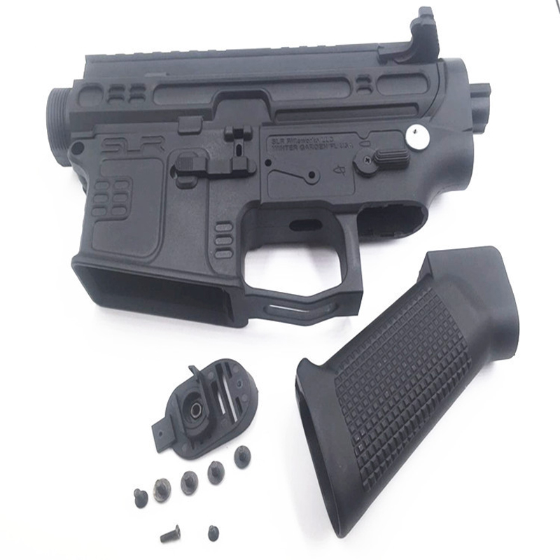 US $39 0 |AK Uncle Jingji SLR Gel blaster Nylon receiver Upgrade  accessories No  2 gearbox AR M4 gearbox-in Toy Guns from Toys & Hobbies on