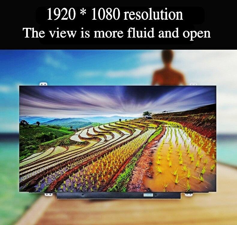 NT156FHM-N41 N42 N156HGE-EA1 L'AGRILE DU FRÊNE B156HTN03.6 B156HTN03.4 B156HTN03.7 HB156FH1-301 401 15.6 écran LCD ordinateur Portable écran - 3