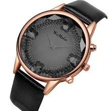 WoMaGe relojes de Pulsera Reloj de Lujo Del Diamante de Las Mujeres Relojes Correa de Cuero de Las Señoras de Oro Rosa Reloj Reloj relogio feminino reloj mujer