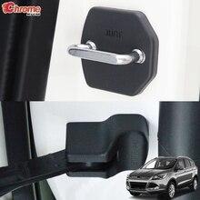 Для Ford Escape Kuga 2013 крышка дверного замка рычаг Контролер стопор Пряжка Чехол Защита автомобильные аксессуары