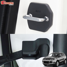 For Ford Escape Kuga 2013 2014 2015 2016 2017 2018 2019 Door Lock Cover Arm Checker Stopper Buckle Case Guard Car Accessories