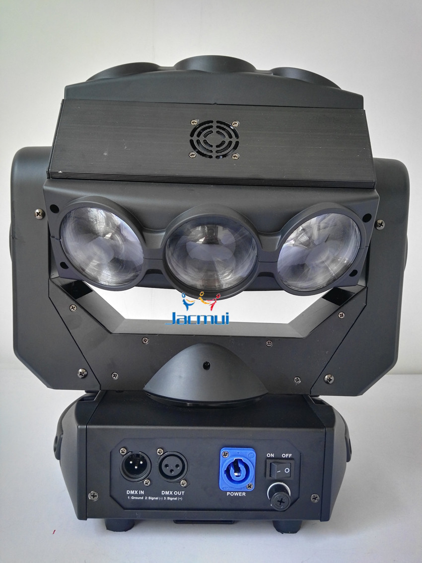 9*12w led moving head beam light with 10/41channels for dj event party show ,disco club