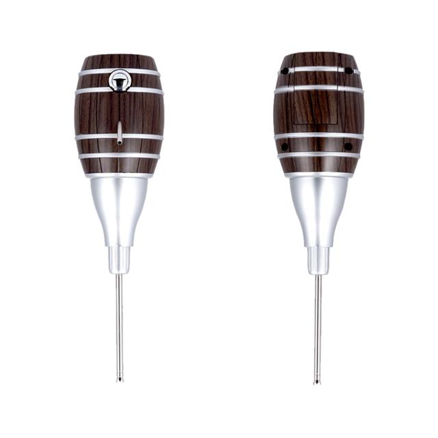 Top quality Barrel Shaped Wine Pourers Decanter Electric Cider Pump Aerator Pourer Design Wine Juice Bottle Drinks for parties 4