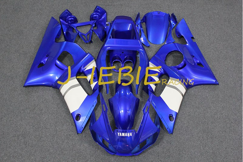 Blue Injection Fairing Body Work Frame Kit for Yamaha YZF 600 R6 1998 1999 2000 2001 2002