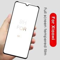 Real 5D curvo de cristal templado para Xiaomi Mi cc9 10 9T Pro Mi 9 SE 8 Lite Mi9 Mi8 11 explorar la cubierta completa Pantalla de Cristal Protector