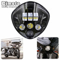 HL-027 Victory Motorcycle LED Headlight Kit - High-Intensity Cross Country  For 2007-2016 Cruisers With Bullet Style Headlight