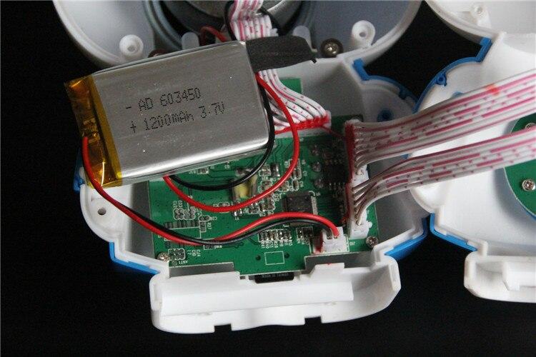 história 3.7V Célula de bateria de lítio Recarregável Li-ion