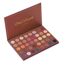 UCANBE Makeup Pallete 40 Color CHOCO FUSION Shimmer Eyeshadow Palette earth color Make Up Matte Eye Shadow Nude Cosmetic