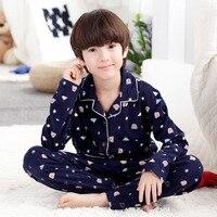 2018 Children S Clothing Autumn Pajamas Clothing Set Boys Girls Sleepwear Suit Set Kids Long Sleeved