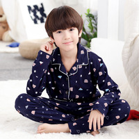 2018 Children S Clothing Autumn Pajamas Clothing Set Boys Girls Sleepwear Suit Set Kids Long Sleeved