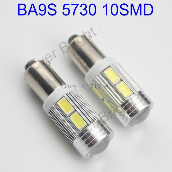 buy super bright 4pieces lot white bulbs ba9s led 12v car led 5730 10 smd 10led. Black Bedroom Furniture Sets. Home Design Ideas