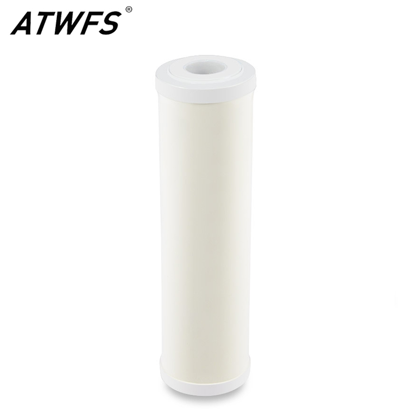 ATWFS 10'' Home Water Filters Cartridge For Household Inline 0.5 Micron Aqua Ceramic Filter Water Cartridge