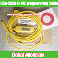 1pcs USB-SC09-FX PLC data Programming Cable for Mitsubishi / SC-09 SC09 FX FX1N / FX2N / FX1S / FX3U PLC programming cable