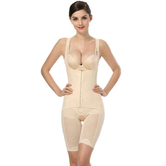 12237f84b110f Tummy Control Pant Body Shaper Plus Size Shapewear Women Slim Body Shaper  Pants Slim Underwear Bodysuit Slim Pants W880355