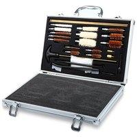 74PCS Universal Hand Gun Rifle Shot Gun Cleaning Smithing Kit Set Hunting Accessories