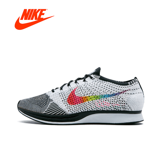 buy online ac137 fd19e Nike Flyknit Racer Original New Arrival Authentic Mens Running Shoes  Breathable Sport Outdoor Sneakers Good Quality 526628-500