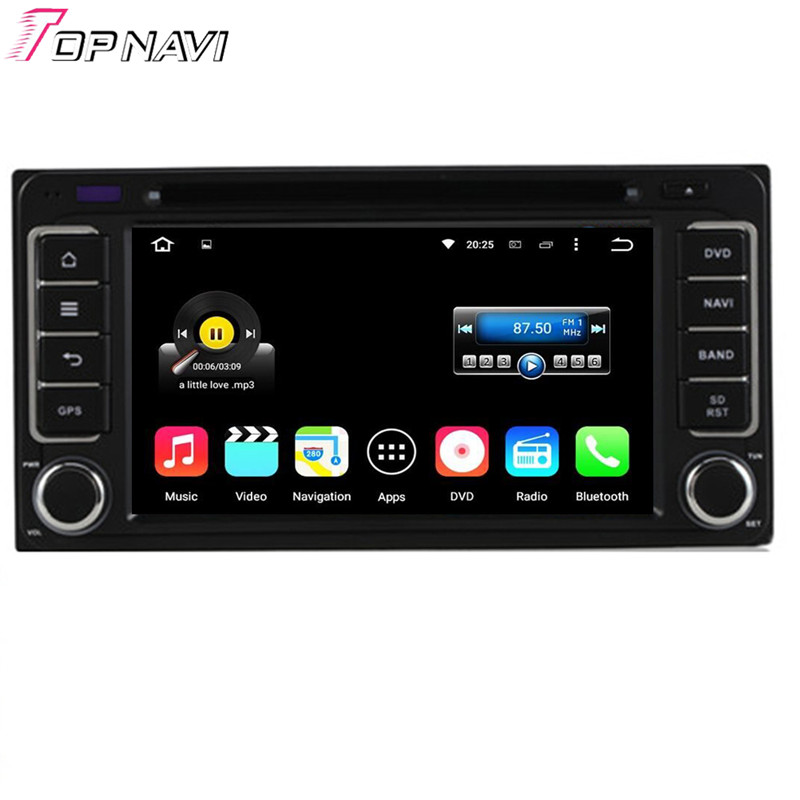 Quad Core Android 5.1.1 Car DVD For TOYOTA RAV4/Camry/Corolla/Vitz/Echo/COROLLA EX/VIOS/HILUXTeriosLand Cruiser 100 series/PRADO