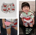 2015 bobo choses watermelon shorts for girls boys family look summer style children vetement enfant fille garcon summer pants
