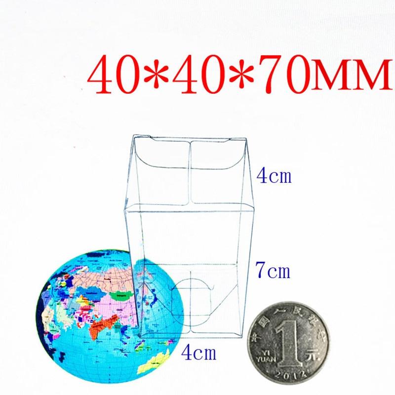 Envío libre 100 unids 4*4*7 cm punto PVC caja de plástico ...